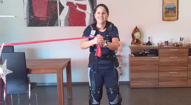 Training zu Hause myosuit