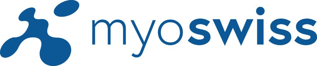 Myoswiss logo blue